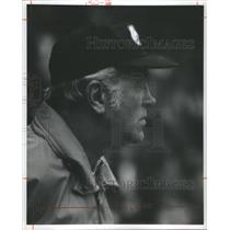 1973 Press Photo Coach McCafferty Of The Detroit Lions - RSC28093