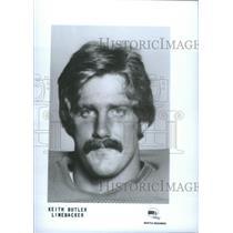 Press Photo Keith Butler Linebacker Baseball Player - RSC25867