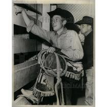 1965 Press Photo Bill Kornell Veteran Bull Rider - RRX25499
