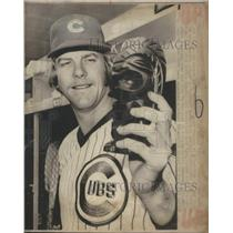 1975 Press Photo Milton Edward Wilcox Chicago Cubs - RSC29583