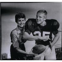 1955 Press Photo Tommy McDonald Oklahoma - RRX43275
