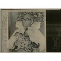 1973 Press Photo Last Suviving Man State Univ Football - RRX53607