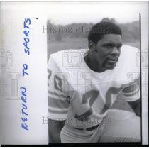 1975 Press Photo Billy Howard football player - RRX39581