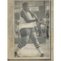 1974 Press Photo Roxanne Moxley Women Baseball Player San Diego High - RSC29601