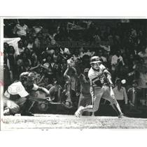 1979 Press Photo Manny Figueroa, High School Public League Championship Playoff