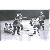 1962 Press Photo Teamsters 299 Boys Hockey Team Detroit