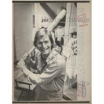 1975 Press Photo Baltimore Oriole Utility Infielder Doug Decinces - RSC29065