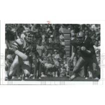 Press Photo New York Jets Coastineau Running Ball - RSC28839