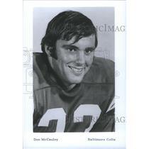 Press Photo Don McCauley Baltimore Colts - RSC26291