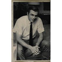 1968 Press Photo MIlt Pappas Reds Braves Pitcher - RRW73969