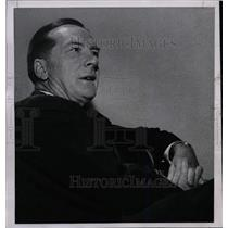 1955 Press Photo Earl Henry Red Blaik Dartmouth fame - RRW80587