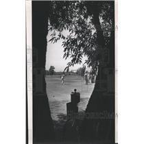 1971 Press Photo Evans Pro-Am Olympia Field Harold Lake - RRW43175