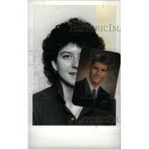1986 Press Photo Ruthanne Wisniewski,basketball player - RRX40429
