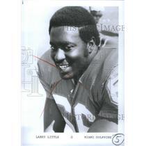 Press Photo Larry Little Miami Dolphins Football Player - RSC26003