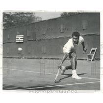 1959 Press Photo PAN AMERICAN TENNIS ADOLFO GOMEZ - RRW52131