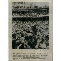 1968 Press Photo Manuel Benitaz Spanish Matador - RRX47109