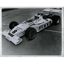 1973 Press Photo Bobby Unser Olsonite Eagle Number 8 - RRW62697