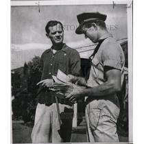 1954 Press Photo Philadelphia Athletics' Eddie Joost - RRW73187