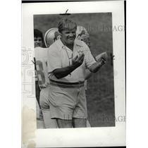 1981 Press Photo Monte Clark coach Detroit Lions - RRW73823