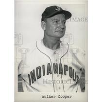 1958 Press Photo Walker Cooper Coach Indianapolis - RRW74529