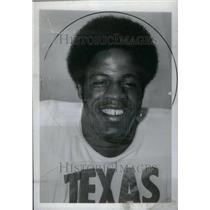1975 Press Photo Earl Campbell Houston Oilers Texas