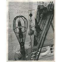 1939 Press Photo Ships - Buoys
