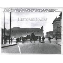 1957 Press Photo Colombia troops Bogota Gustavo Rojas - RRX82531