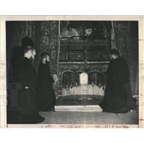 1947 Press Photo Franciscan Church Nativity Bethlehem - RRX81225