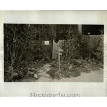 1932 Press Photo The North American Flower Show