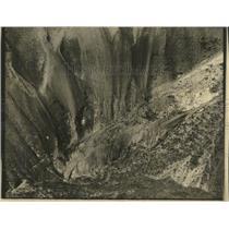 1935 Press Photo Carbon Mountain Durange Colorado Plane - RRX82351