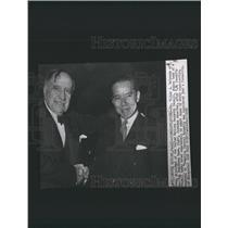 1956 Press Photo Dr Belaunde UN Security Council Japan - RRX84997