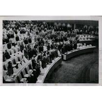 1952 Press Photo United Nations assembly offer tribute - RRW67197