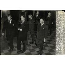 1941 Press Photo German Spy Herman Lang Conradin Dold - RRW88467