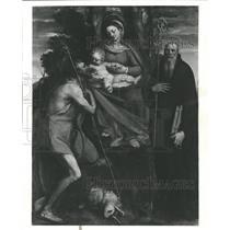 Prss Photo Madonna and Child, St John the Baptist - RRW27791