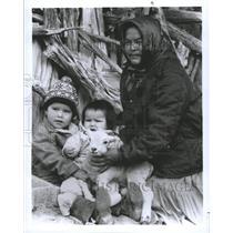 1986 Press Photo Navajo Indians - RRX87909