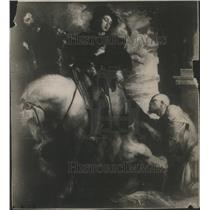 1915 Press Photo Anthony Van Dyck Painting St Martin Partageant Son Manteau