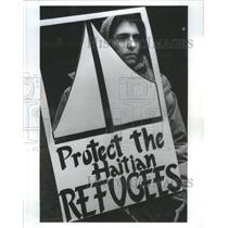 1992 Press Photo Chicago Religious Task Force America L