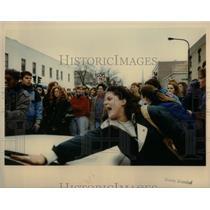 1991 Press Photo Northern Western University Evanston - RRX56645