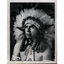 1968 Press Photo Chief Eagle Sioux - RRW99929