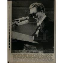 1970 Dr. Karl Ragnar Gierow Speaks Nobel Prize Ceremony - RRX33459