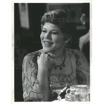 1980 Press Photo Anne Jackson American Television Actress A Private Battle