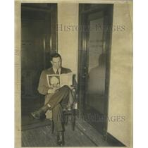 1933 Press Photo Max Sonderby S-T Reporter - RSC32035