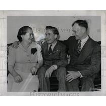 1943 Press Photo Anthony Scipione spelling bee champion