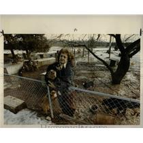 1992 Press Photo Vivian Gross Dog Hoarder