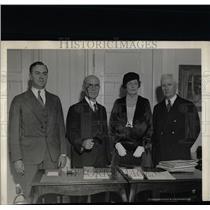 1931 Press Photo Robert Lucas Simeon Fess Mrs Alvin - RRX68759