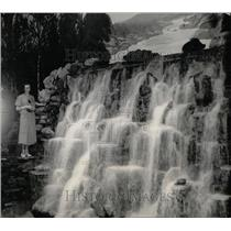 1933 Press Photo Chicago World's Fair Michigan Exhibit - RRW67931