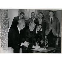 1965 Press Photo Phonenix Steel Corp David McDonald - RRW86123