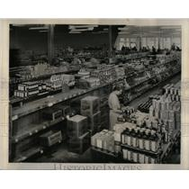 1946 Press Photo Interior of a supermarket, Greenville - RRX10669