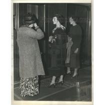 1934 Press Photo Mrs John Jacob Astor Virgina French Ellen
