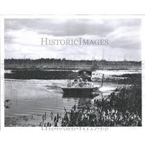 1965 Press Photo Deadstream Swamp Michigan